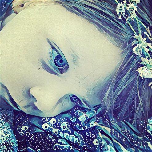 My niece as a fairy elven princess