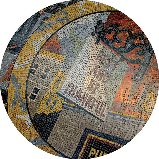 Rest and be thankful mosaic from London's National Gallery
