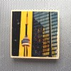 cn tower, toronto financial district, toronto architecture prints, urban art prints, yellow and black decor, yellow and black prints, glass and concrete, toronto landmark photography