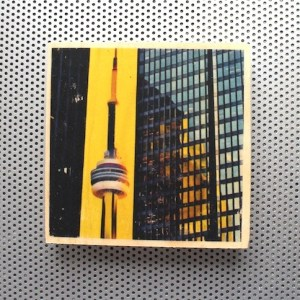 cn tower, toronto financial district, toronto architecture prints, urban art prints, yellow and black decor, yellow and black prints, glass and concrete, toronto landmark photography