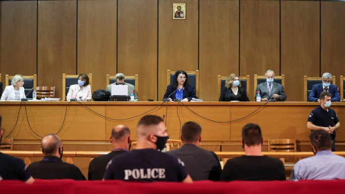 Greek court rules far-right Golden Dawn leaders ran a crime group