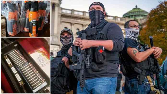 Inside far-right American militia networks arming themselves for Civil War