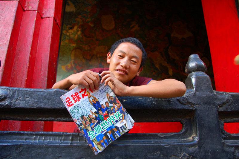 Tibetan Monk Shigatse
