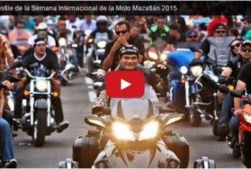 XX Desfile de la Semana de la Moto Mazatlán 2015