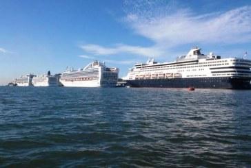 Mazatlán consolida arribo de cruceros con cuatro simultáneamente