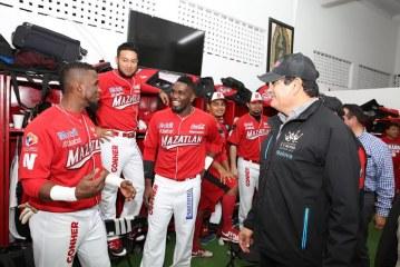 Felicita Gobernador a Los Campeones Venados de Mazatlán
