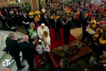 Discurso del Papa en el encuentro con los jóvenes en Morelia