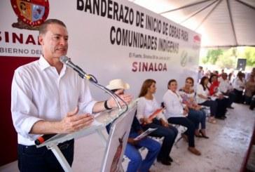 Lleva Quirino Ordaz obras por 40 mdp a comunidades indígenas