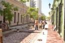 Supervisa Alcalde avance  de Obras en el Centro Histórico