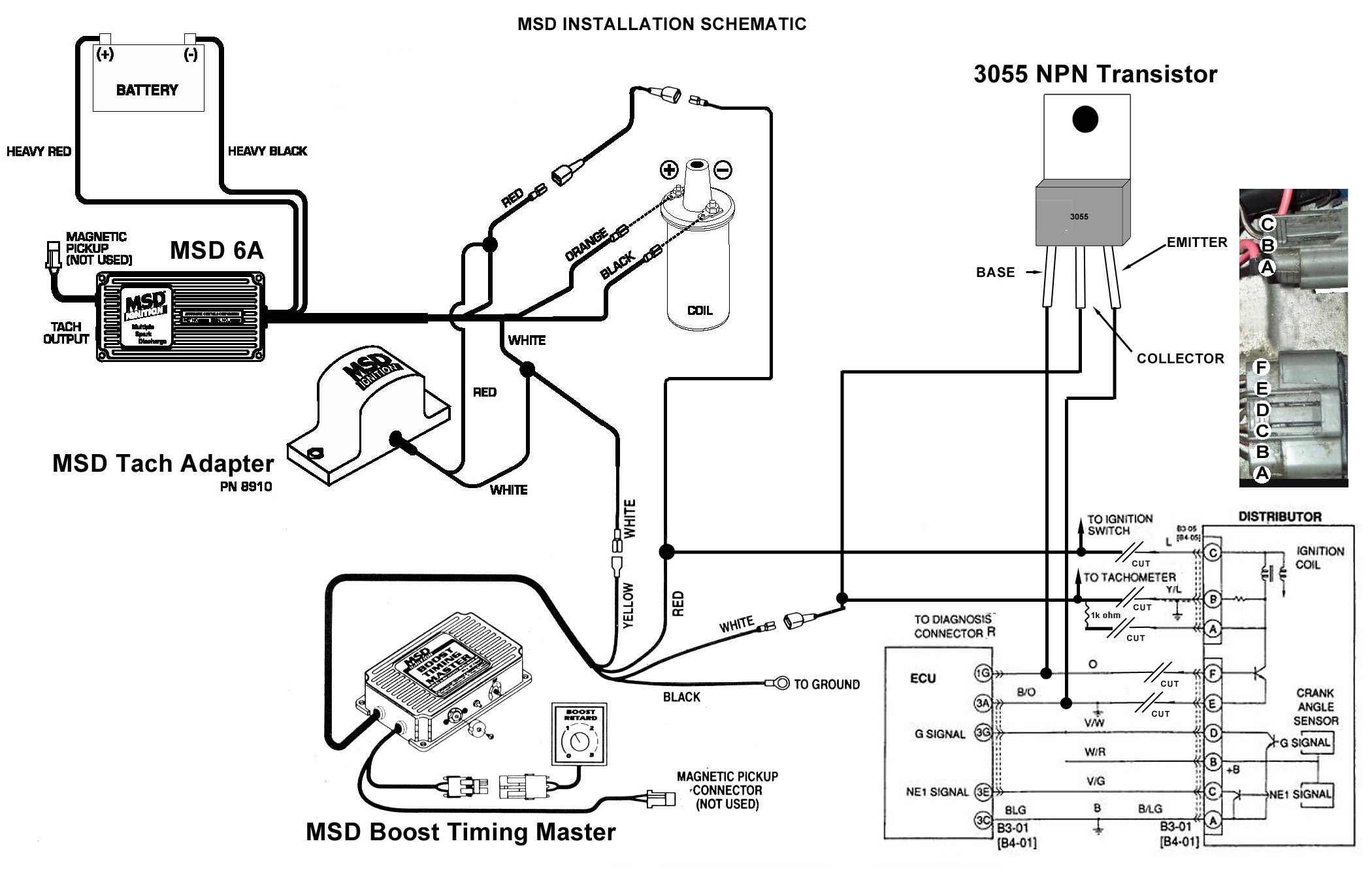 msd ignition diagram