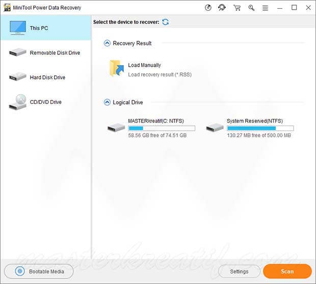 MiniTool Power Data Recovery License Key Full Version