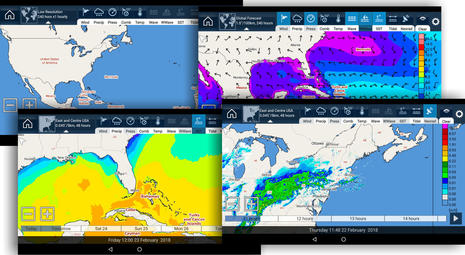 Raymarine MFD apps three ways: from sat comms to video streaming