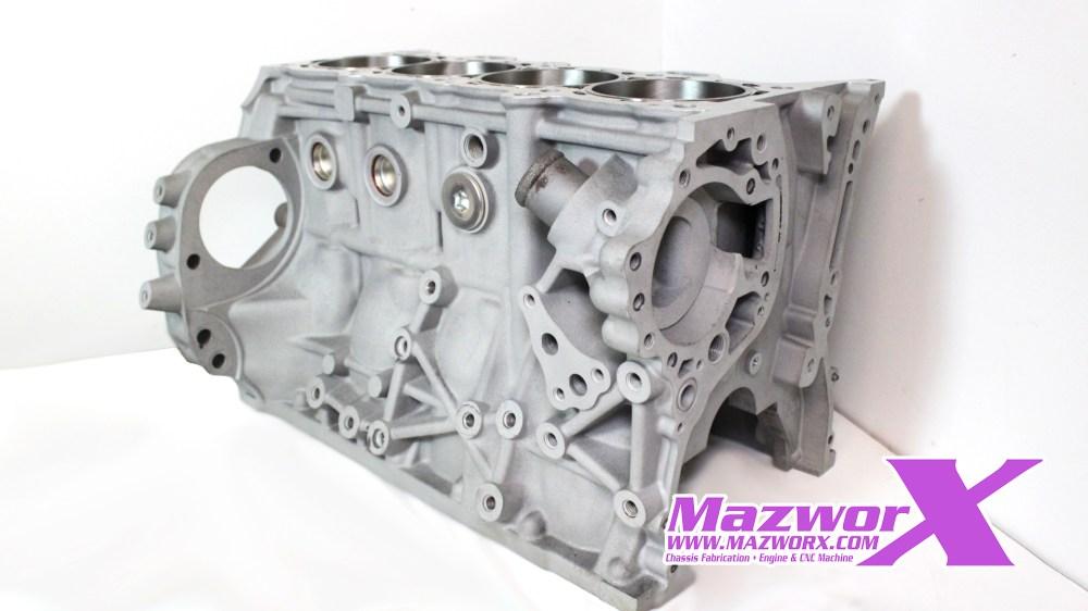 Mazworx  SR20 Sleeved Block #30300