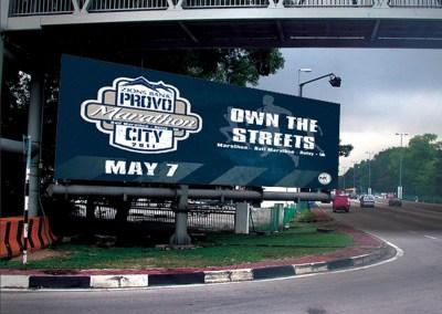 Provo City Marathon Banners