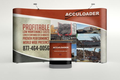 Acculoader Tradeshow Booth