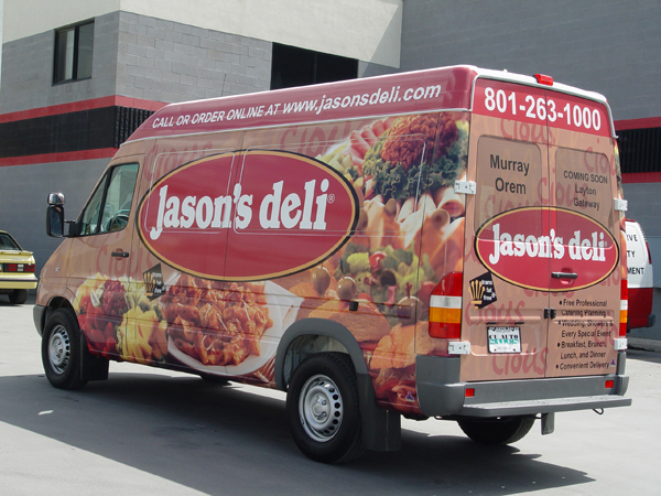 Jason's Deli Vehicle Wrap