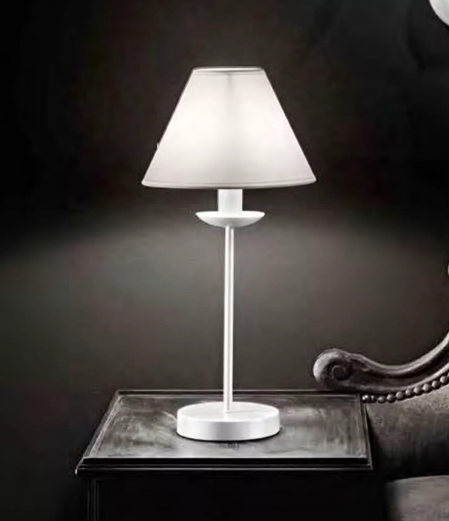 Le lampade da tavolo direttamente casa tua. Abat Jour Da Comodino Shabby Chic Bianco Per Camera Da Letto 6268b91par6268b