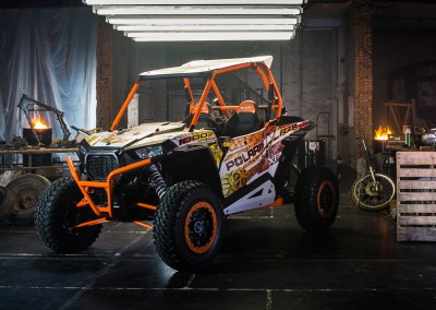 Polaris RZR Calavera Wrap