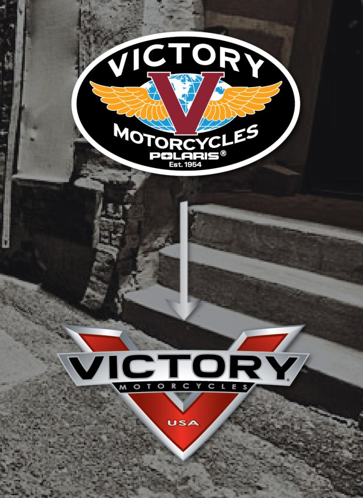 Victory Logo Previous and New