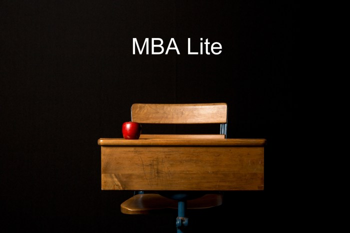 MBA Lite apple