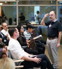 MBA-Teinnehmer beim Unterricht
