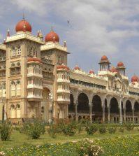 Außenansicht Palast in Mysore