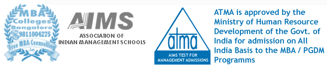 MBA colleges Bangalore accepting ATMA