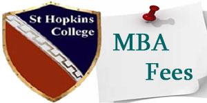 St Hopkins college MBA fees 2018