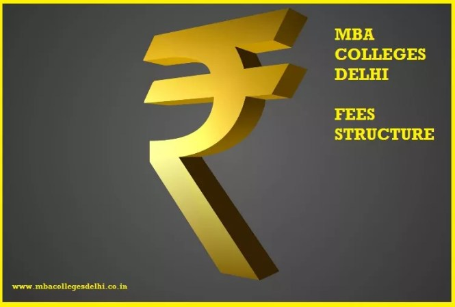 MBA colleges delhi with fee structure