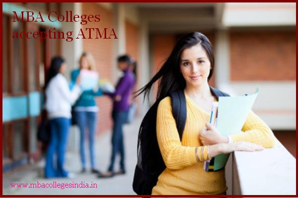 MBA Colleges accepting ATMA
