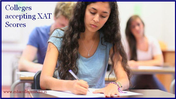 Colleges accepting XAT Scores