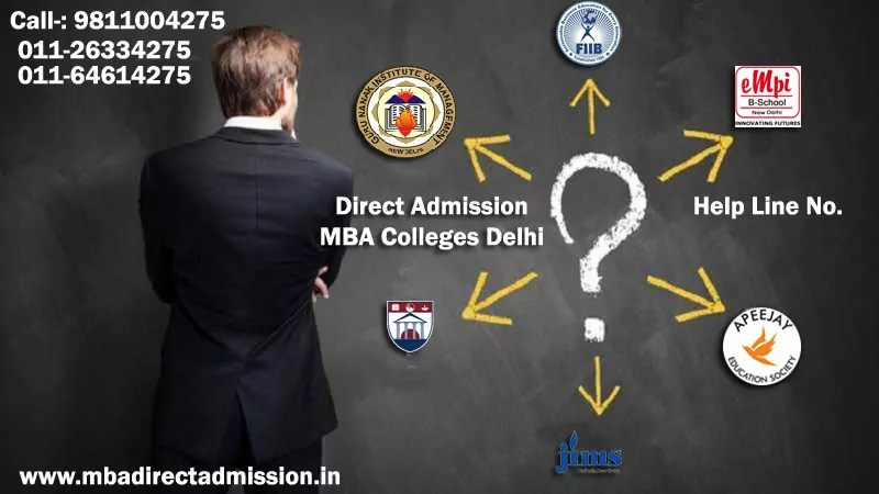 Direct Admission Top Delhi B School, Colleges, University