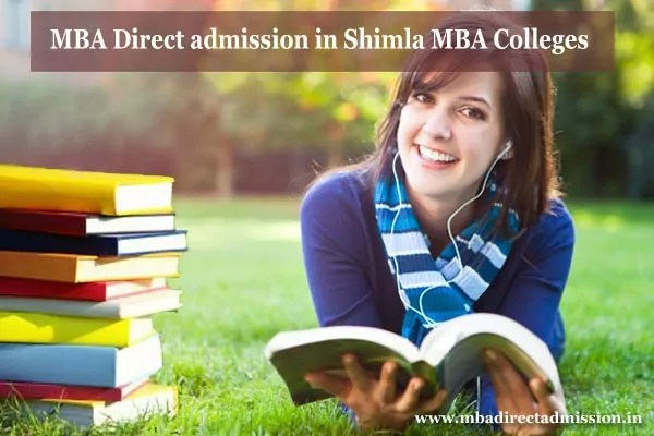 MBA Direct Admission in Shimla