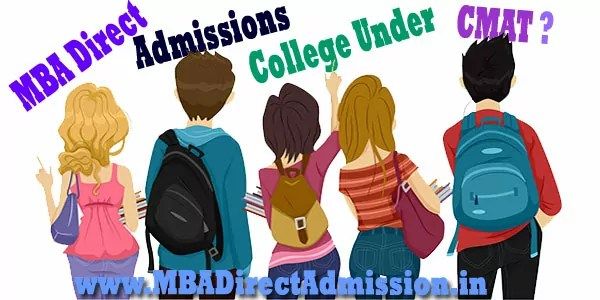 Direct Admission MBA Colleges under CMAT