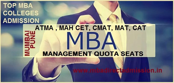 Direct Admission in MBA Colleges Under MAH-CET