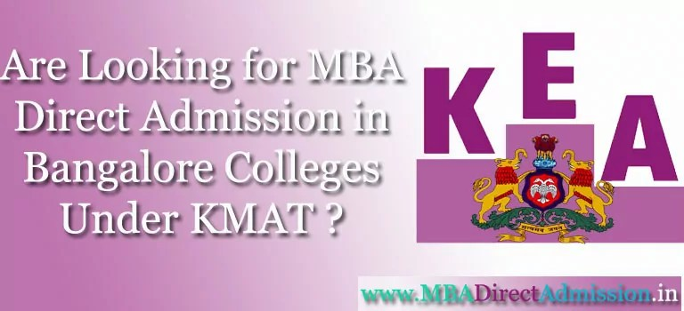 Direct MBA Admission in Bangalore, Karnataka