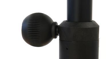 Sprechertisch Absorber Desk Mono AD165 stufenlos höhenverstellbar über Gasdruckfeder