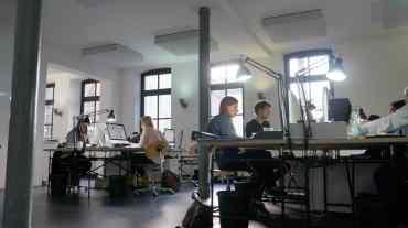 Deckenabsorber Mehrpersonen-Büro Kuhl|Frenzel, Osnabrück