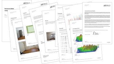 Messbericht mbakustik Regieraum