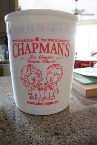 Chapmans Ice Cream Pail