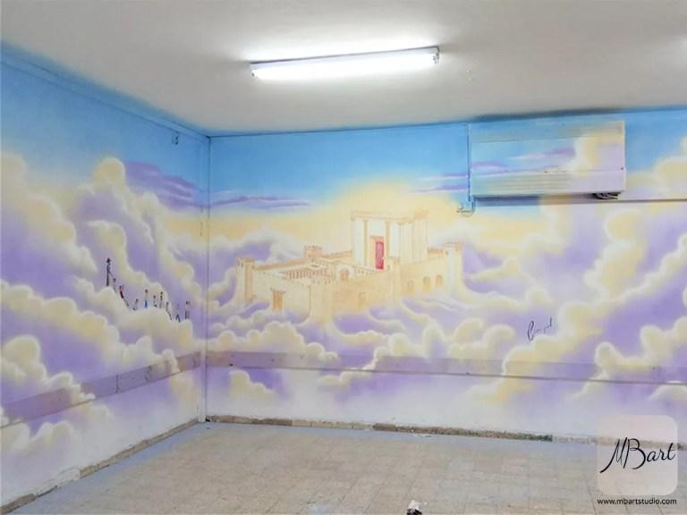 ציורי קיר למוסדות דתיות