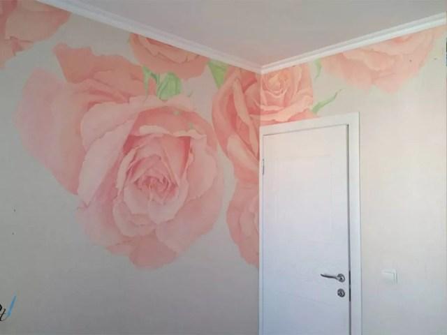 ציורי קיר לסלון