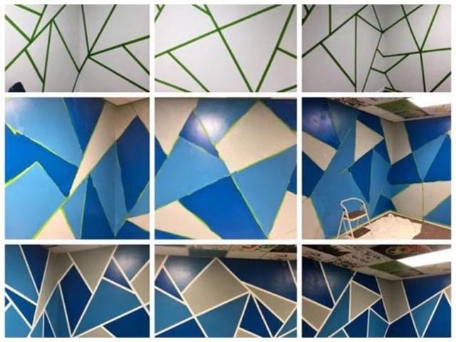 צביעת קירות אומנותית