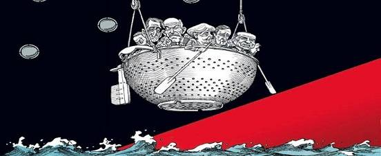 Image result for eu is a sinking ship