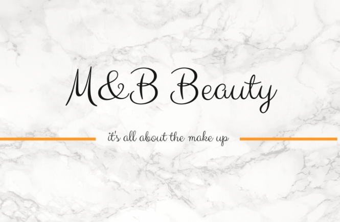 M&B Beauty Blog Logo