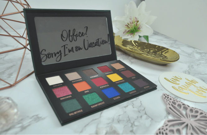 LOV Cosmetics EYEvotion Extended Paradise Edition