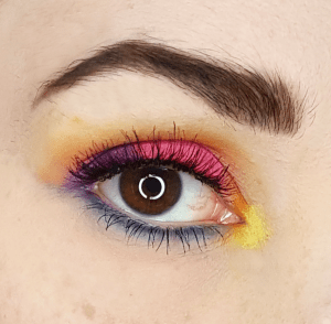 Party Animal Palette Eye Makeup Look