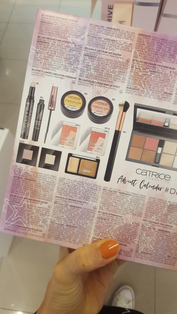 Catrice Cosmetics Adventskalender 2018