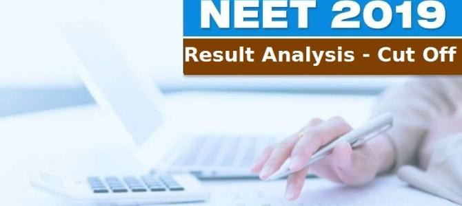 NEET-UG 2019 cut off
