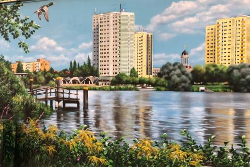 Malerei von Neustädter Havekbucht von ArtFX